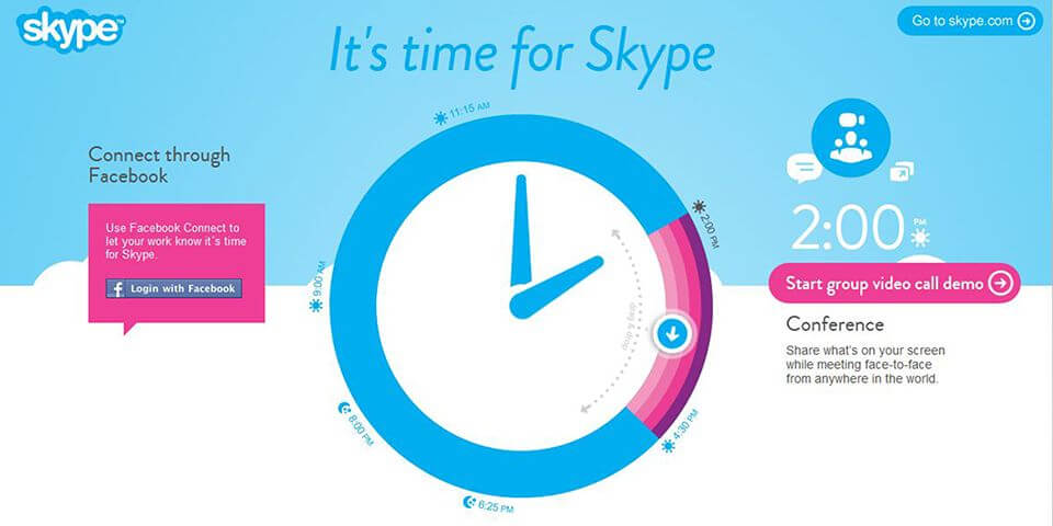 Pereira O'Dell | It's Time for Skype